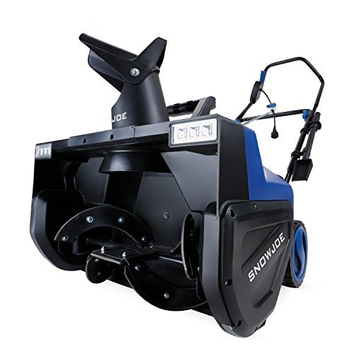 Snow Joe SJ627E Electric Snow Thrower | 22-Inch | 15-Amp | w/Dual LED Lights (Best Type Of Snowblower For Gravel Driveway)