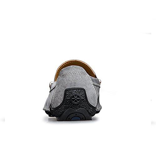 Minitoo LHUS-LH1666, Mocassins Pour Homme - Gris - Gris, 39
