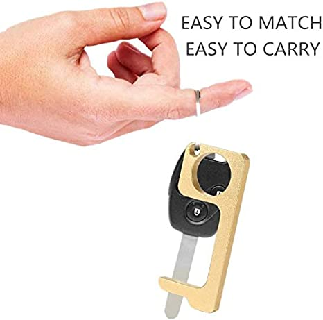 No Touch Door Opener Tool 4 - Pack EDC Door Opener Hands Free Keys Anti Touch Door Opener Button Pusher Tools for Home Outdoor