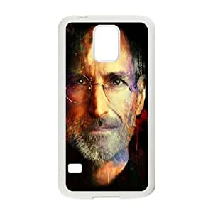 Steve Jobs Painting Samsung Galaxy S5 Cell Phone Case White phone component RT_393810