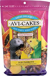 Avi-Cakes Fruit Delight Gourmet Bird Food, (Parrot Cakes)