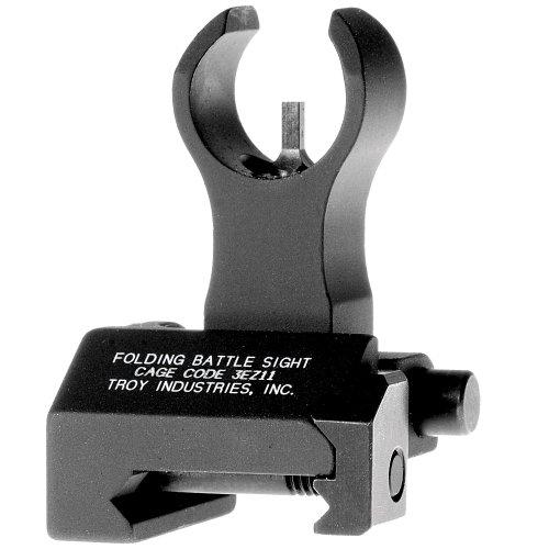 Troy Industries Front HK Folding Battle Sight (Black) (Best Folding Iron Sights For Ar 15)