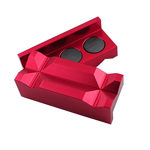 Multi-Purpose Magnetic Red Aluminum 4