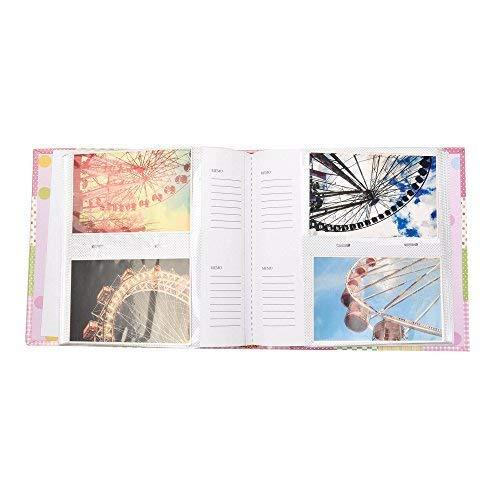 Arpan Fotoalbum f/ür 200 Fotos Rosa 10 x 15 cm