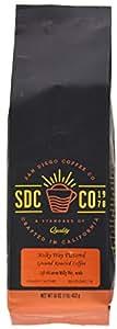 San Diego Ground Roasted Coffee, Milky Way, 16 Ounce