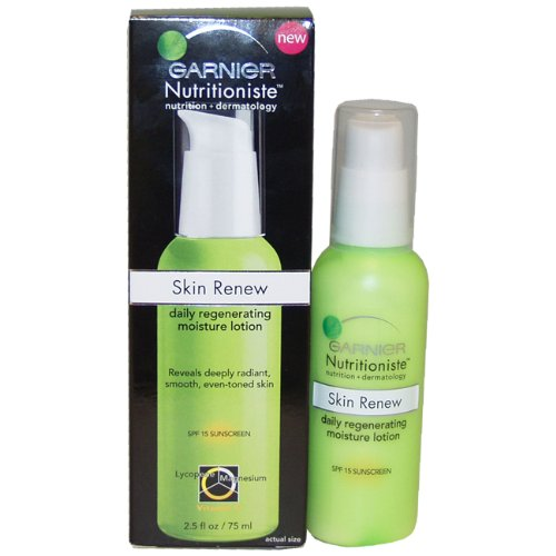 Nutritioniste Skin Renew Daily Regenerating Moisture Lotion By Garnier for Unisex Lotion, 2.5 Ounce