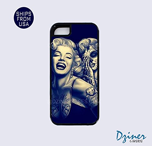 Iphone 5s case, Iphone 5s cover, Iphone 5s cases - Marilyn Monroe Skull Apple...