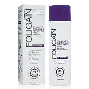 Foligain Stimulating Conditioner For Thining Hair-Women 236Ml