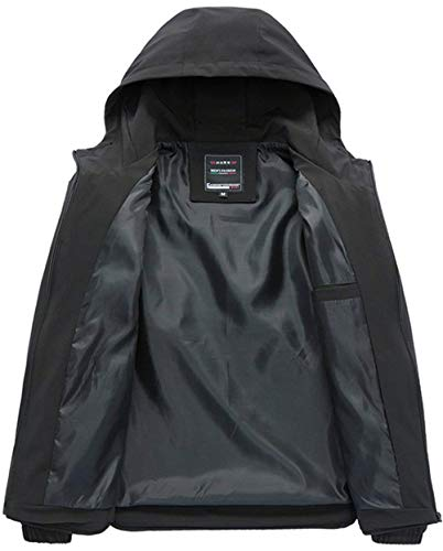 Cappotto Cappuccio Sport Con Manica Slim Fit Moda Da Uomo Lunga Schwarz Outdoor Cerniera Top Varsity Giacche rSqrU