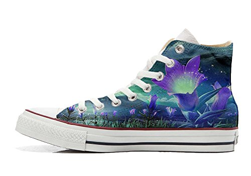 mys Converse All Star Customized - zapatos personalizados (Producto Artesano) Fiori Fantasy