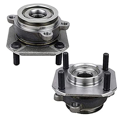 Bodeman - Pair 2 Front Wheel Hub & Bearing Assembly w/ 4-Wheel ABS for 2007-2012 Nissan Sentra 2.0L: Automotive