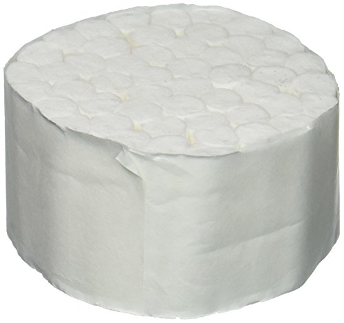 Medicom 4554 Dental Cotton Roll, 2, Medium, Non-Sterile, 1-1/2'' Diameter, 3/8'' Length (Pack of 2000) by Medicom