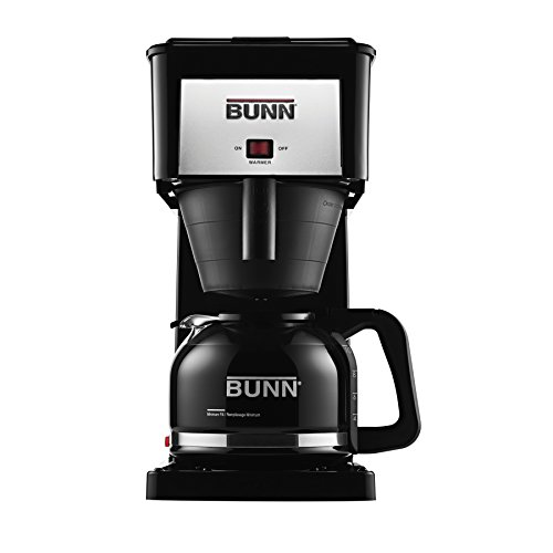 BUNN GRBD Velocity Brew High Altitude Original 10-Cup Home Brewer, Black