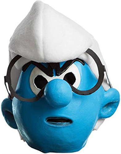 [The Smurfs Movie Child's Mask, Grouchy] (Smurf Costume 2 Year Old)