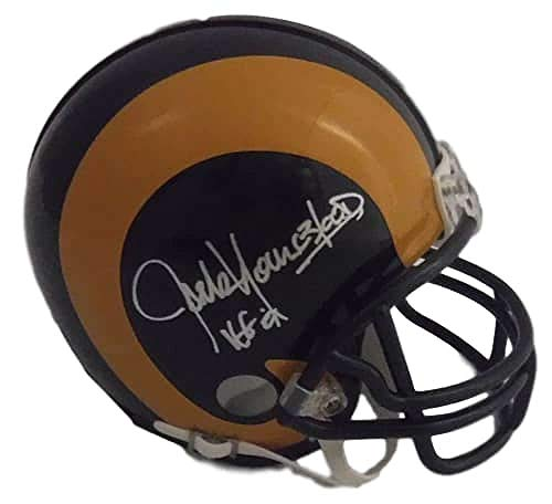 Jack Youngblood Autographed Los Angeles Rams TB Mini Helmet HOF JSA