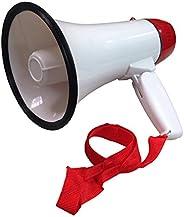 Ideas In Life Portable Megaphone 20 Watt Power Megaphone Speaker Bullhorn Voice and Siren/Alarm Modes with Vol