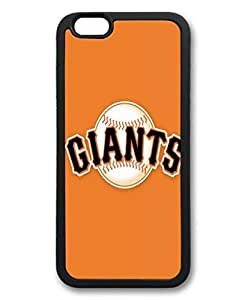 Baseball ¡§C San Francisco Giants Protective Soft & Smooth TPU Back Fits Cover Case for iphone 6 Plus 5.5-1122028