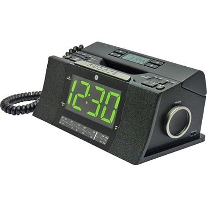 Amazon.com : GE 29298FE1 Corded Bedroom Phone with CID/Radio/Alarm ...