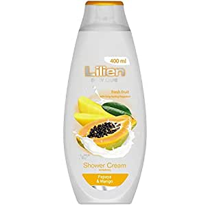 Lilien Fruity Shower Cream Papaya&Mango 400 Ml