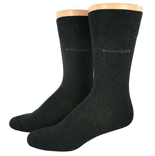 Hombre Calcetines De Vestir ELEGANCE - Antracita, 39/42