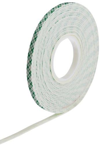 3M 4016 Natural Polyurethane Double Coated Foam Tape, 0.25