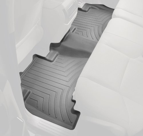 Gray 464272 WeatherTech Rear FloorLiner for Select Toyota Prius V Models