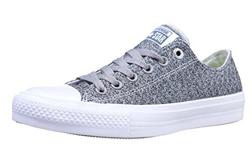 c4e725ade21d Converse 154025C   Mens Chuck Taylor All Star Low II Sneaker (Mouse White