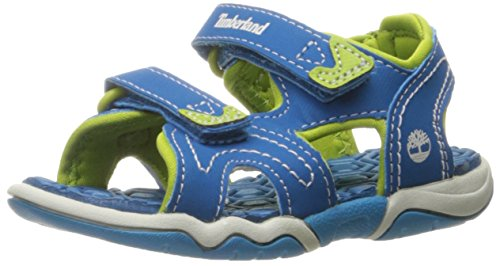 - Timberland Kids' Adventure Seeker 2 Strap Sandal, Mykonos Blue, 5 M US Toddler