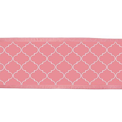 BreathableBaby-Mesh-Printed-Crib-Liner-Coral