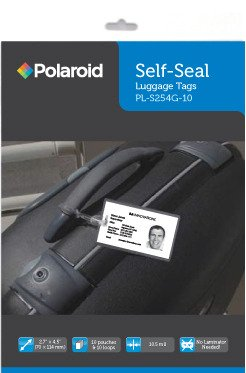 Polaroid Self Seal Luggage 4 5 Inches luggage