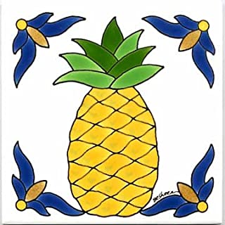 product image for FRUITS-VEGETBLES-TRIVETS-WALL PLAQUES-PINEAPPLE TILE