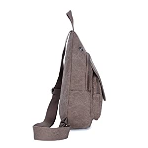 Carylon Made In 1977 Unisex Environmental Chest Pack Sport Sling Hiking Shoulder Crossbody Backpack Rucksack Bag