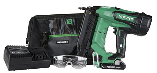 Hitachi Cordless Switch (Hitachi NT1850DE 18V Cordless Brad Nailer, Brushless Motor, 18 Gauge, 5/8 to 2
