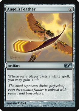 Magic: the Gathering - Angel's Feather - Magic 2012