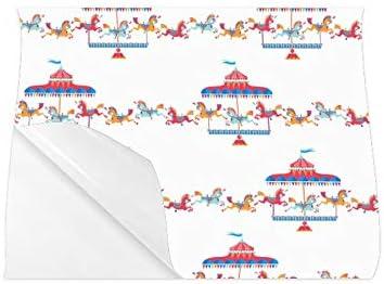 Carteles de viaje Parque de atracciones Parque de atracciones Carteles de pared para carritos de niños Cartel de pared en color de 20x16 pulgadas Impresión de arte de pared Decoración de la sala de