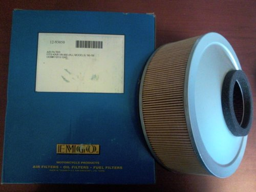AIR FILTER KAWASAKI 11013-1243 VN800, Manufacturer: EMGO, Part Number: 202255-AD, VPN: 12-93050-AD, Condition: New