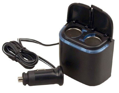 Pyle PL12V2CP Plug In Car 1 TO 2 Cigarette Lighter Multiplier