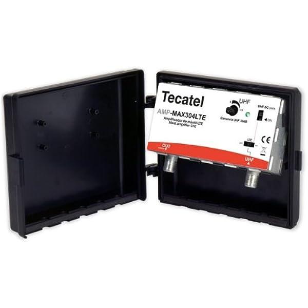 Amplificador de mástil Tecatel Máx 30dB, UHF LTE: Amazon.es ...
