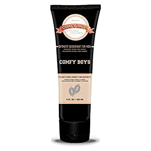 Comfy Boys - #1 Intimate Deodorant for Men - 4 Oz Daily Grooming Routine Companion