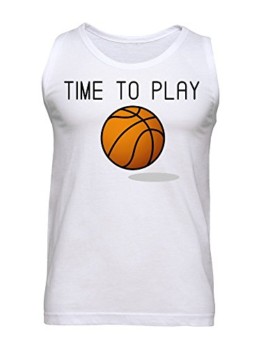 Time To Play Basketball Men's Tank Top