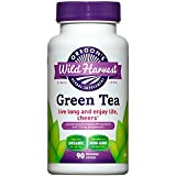 Oregon's Wild Harvest Non-GMO Green Tea Capsules, Organic Herbal Supplements (Packaging May Vary), 90 Count For Sale
