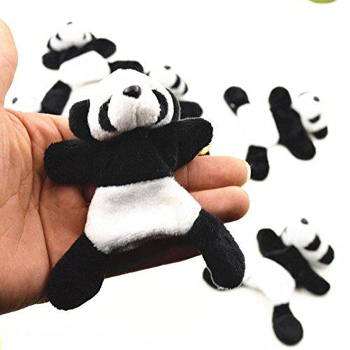 DEESEE(TM) New1Pc Cute Soft Plush Panda Fridge Magnet Refrigerator Sticker Gift Souvenir Decor by DEESEE(TM)_Home (Image #4)