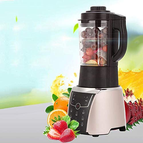 LJJY Licuadoras, Exprimidor Máquina, 1,75 L Inteligente Calefacción procesador multifunción Mezclador de Alimentos Jugo de Frutas Sopa de Soja Batido de Leche