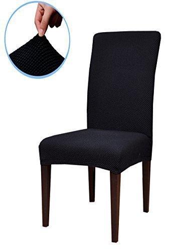 subrtex-jacquard-stretch-dining-room-chair-slipcovers-2-black-jacquard