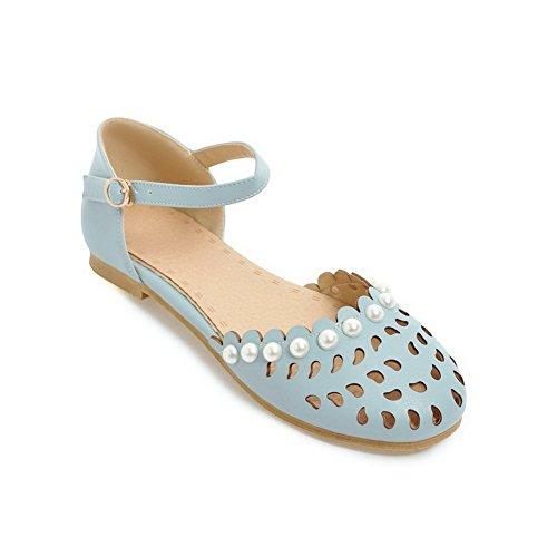 Compensées Sandales 1TO9 Inconnu 36 5 Femme Bleu Bleu 1gvqwERxq