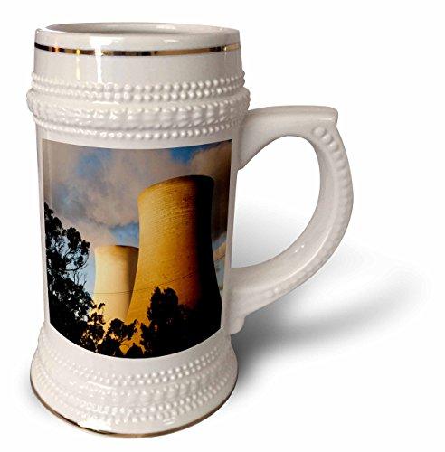 Danita Delimont - Energy - Australia, Towers, coal-fired Tru Energy Power Station-AU01 PSO0111 - Paul Souders - 22oz Stein Mug (stn_71713_1) ()