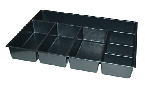 Kennedy Manufacturing 81931 4'', 7-Compartment Divider For 29'' W Kennedy Roller Cabinets & Chests, Industrial Black by Kennedy Manufacturing