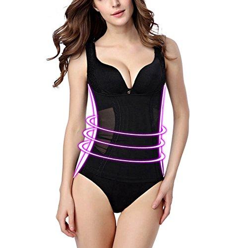 UUGULO Women's Tights Corset Underwear Slimming Vest Underwear Style Tight High Elastic ()