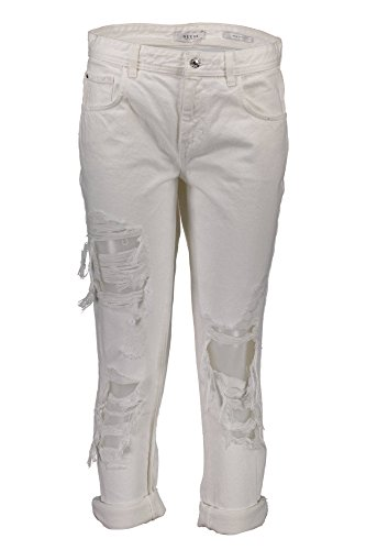 28 W72A00D2LV0 Denim Jeans GUESS OWHI Mujer Bianco Jeans z7055qxw