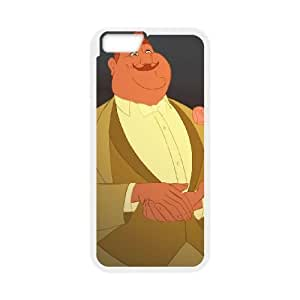 iPhone 6 Plus 5.5 Inch Phone Case Cover White Disney The Princess and the Frog Character Eli Big Daddy La Bouff EUA15994405 Tortoise Phone Covers